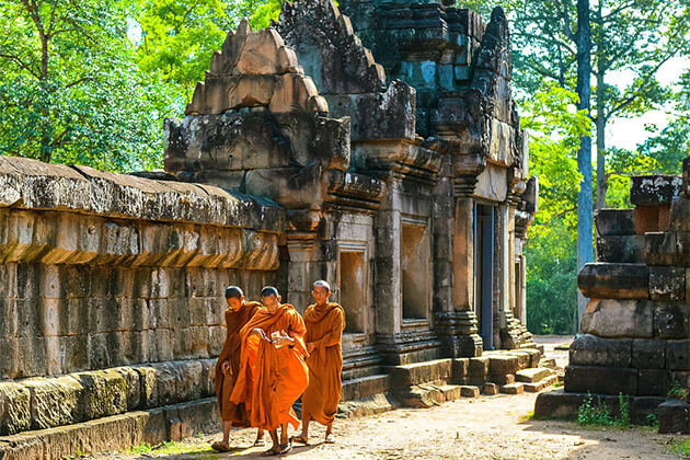 Cambodia & Laos tour from India