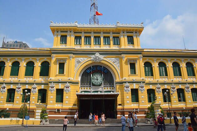 Central Post Office in Ho Chi Minh city - Vietnam holiday package from India
