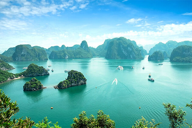 Halong Bay best place to travel in Vietnam Cambodia Laos tour from India