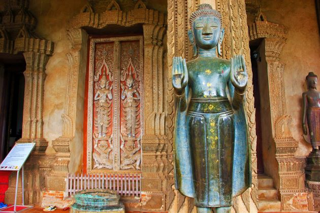 Ho Phra Keo in Vientiane