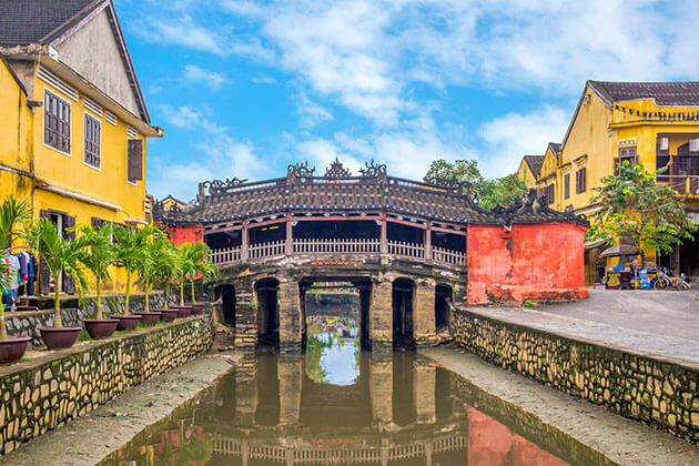 Japanese Covered Bridge - vietnam laos tour packages