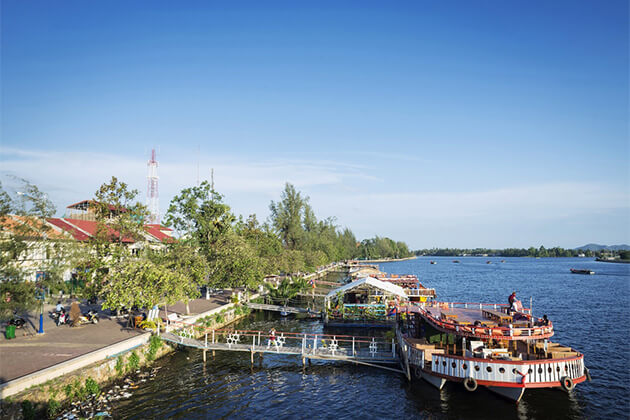 Kampot River ideal spot in Cambodia for Indians