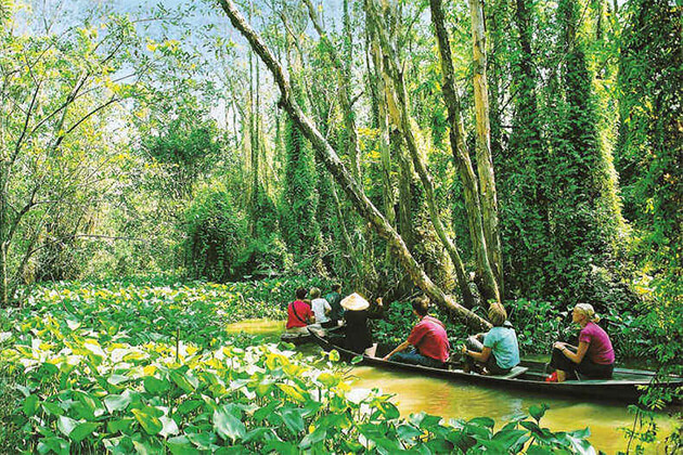 Mekong Delta exploration from Vietnam Cambodia Laos tour
