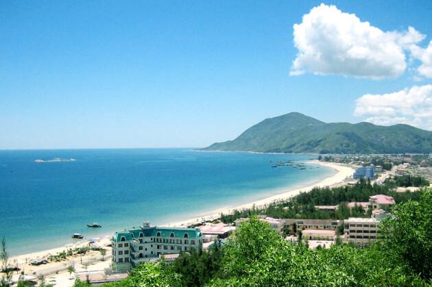 Thien Cam Beach (Ha Tinh) in Vietnam