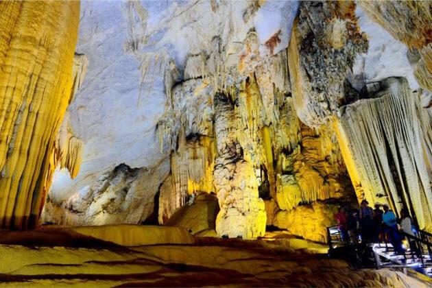 Thien Duong Cave (Quang Binh) in Vietnam