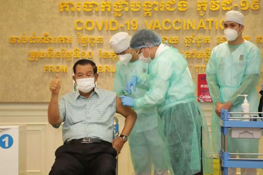 Vaccination Campaign against COVID-19 to begin in cambodia