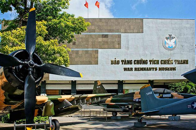 War Remnant Museum in Ho Chi Minh Vietnam