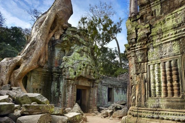 angkor wat complex in cambodia
