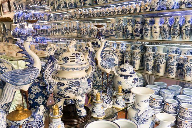 bat trang ceramic village in hanoi