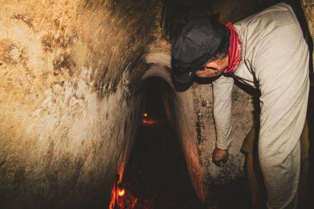 cu chi tunnels in saigon