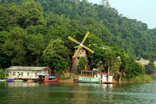 discover Thung Nai (Hoa Binh) must thing to do in Vietnam tour package