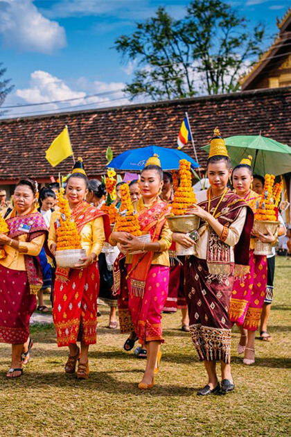 experience unique culture from Indochina holiday tour