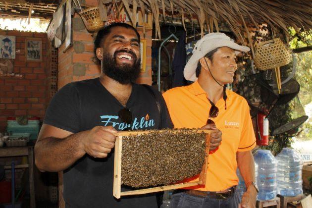 honeybee farm in mekong delta