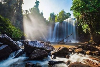 kulen waterfall cambodia and laos tour packages