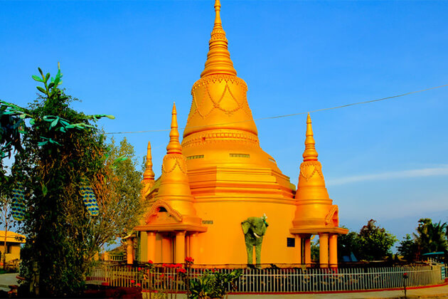 majestic view of Battambang in Cambodia
