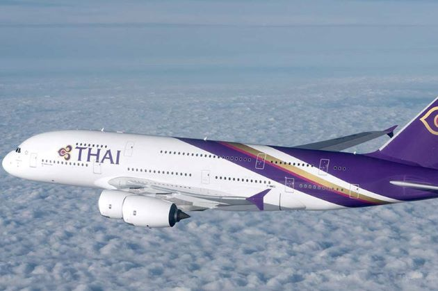thai airway flights from india to cambodia