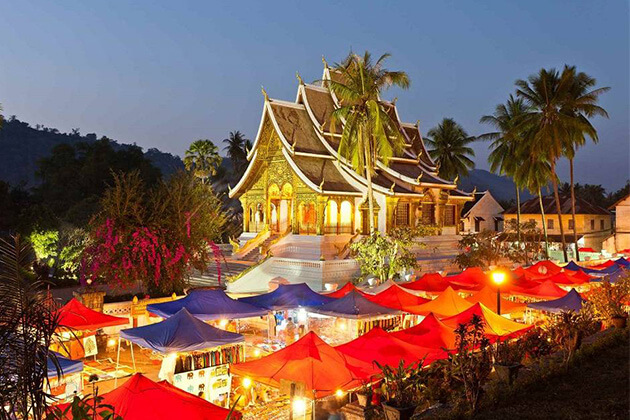 travel to Luang Prabang in Laos