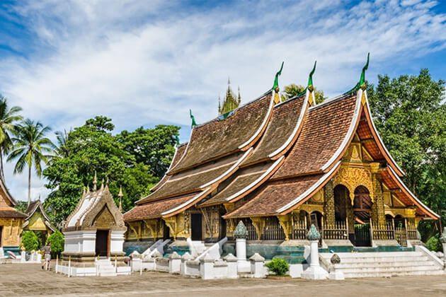 wat xieng thong best place to visit in Luang Prabang Laos